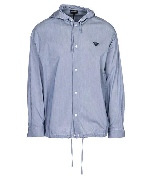 Camicia Emporio Armani 3G1C661N06ZF915 riga blu