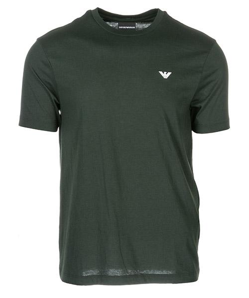 T-shirt Emporio Armani 3G1D65 verde