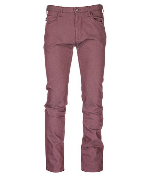 Trousers Emporio Armani 3G1J451N4UZ0347 rosso