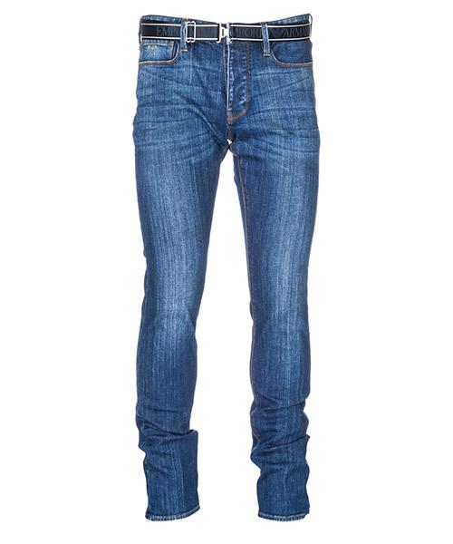 Jeans Emporio Armani 3G1J751DHCZ0942 denim blu