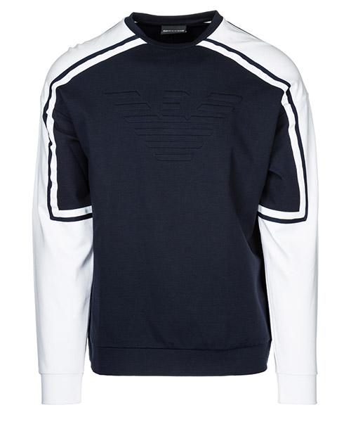 Sweatshirt Emporio Armani 3G1M761J52Z0922 blu navy