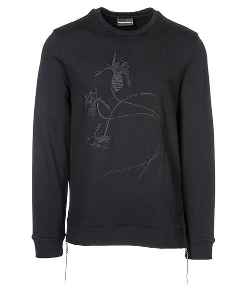 Sweatshirt Emporio Armani 3G1ML31JHUZ0999 nero