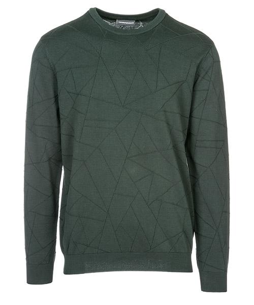 Suéter Emporio Armani 3G1MT11MWXZ0537 verde scuro