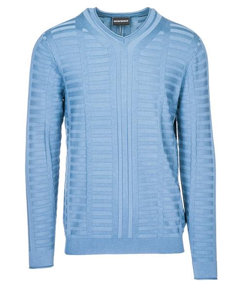 Maglione Emporio Armani 3G1MT41MWQZ0947 blu ombra