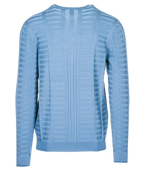 Maglione maglia uomo collo a v slim fit secondary image