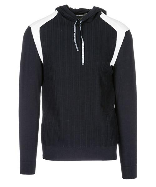 Maglione Emporio Armani 3G1MX91MRZZF979 blu - bianco