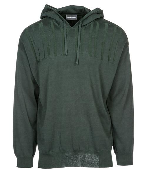 Suéter Emporio Armani 3G1MY61MSYZ0537 verde scuro