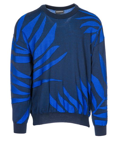 Pullover Emporio Armani 3G1MYH15MBZF924 blu