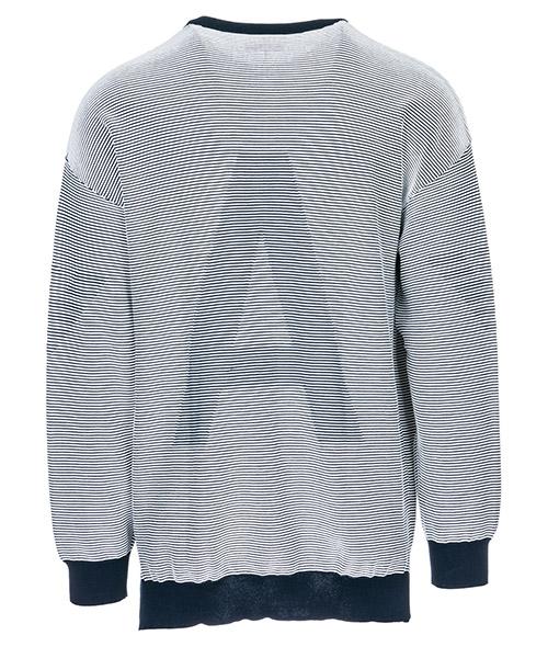 Men's crew neck neckline jumper sweater pullover over fit secondary image