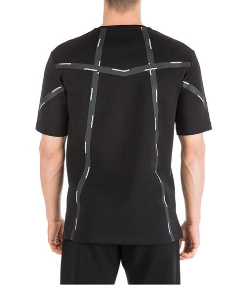 Herren t-shirt kurzarm kurzarmshirt runder kragen over fit secondary image