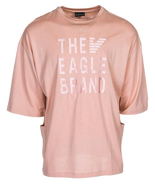 Camiseta Emporio Armani 3G1T871J15Z0344 rosa polvere