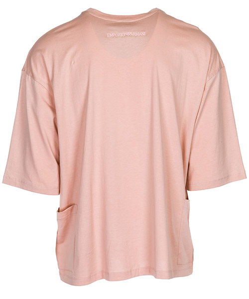 Camiseta de manga corta cuello redondo hombre over fit secondary image