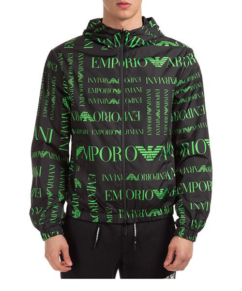 Jacket Emporio Armani 3H1B981NDZZF014 logo verde