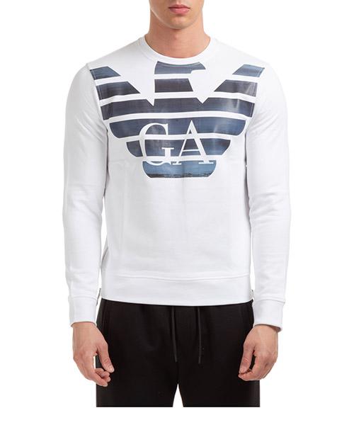 Sweatshirt Emporio Armani 3H1MM41JVTZF125 bianco