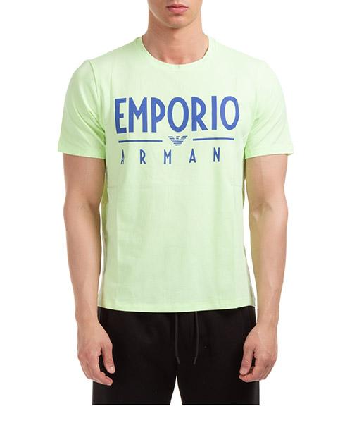 T-shirt Emporio Armani 3H1T901J0AZ0219 giallo fluo