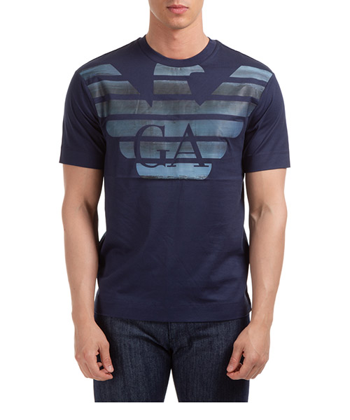 T-shirt Emporio Armani 3H1TM41JCQZG919 blu