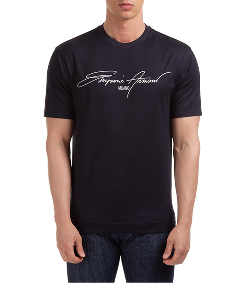T-shirt Emporio Armani 3H1TN11JCQZG940 navy