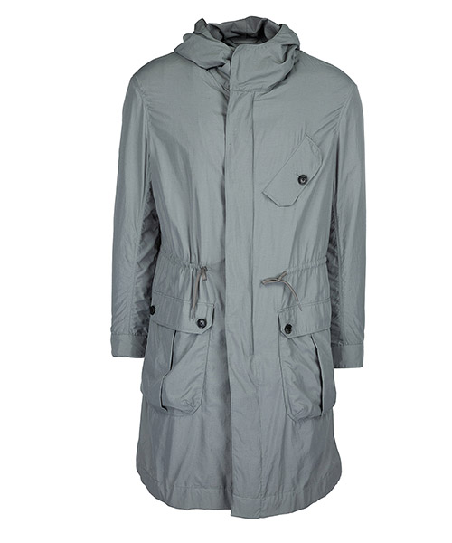 Raincoat Emporio Armani 3Z1LL1 1NFNZ 0645 fango