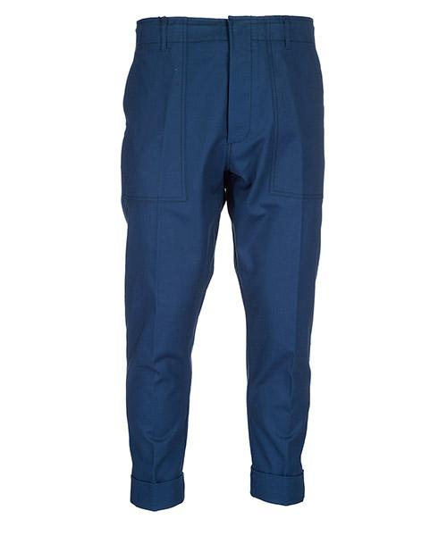 Trousers Emporio Armani 3z1pm81nfvz0926 bluette