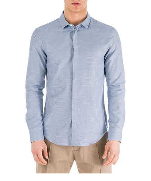 Рубашка Emporio Armani 41CC2L416F8041 blu