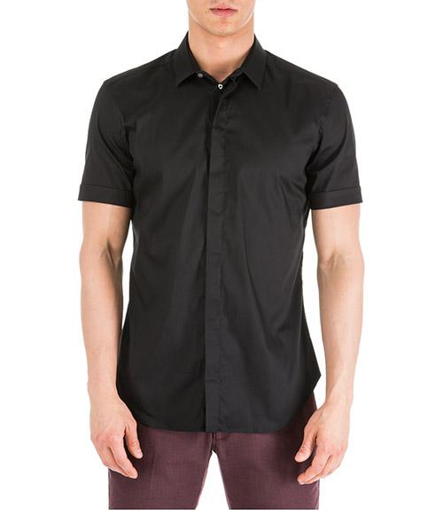 9f58b6ed829 Camisa de mangas cortas Emporio Armani 41CSCM41BC0999 nero