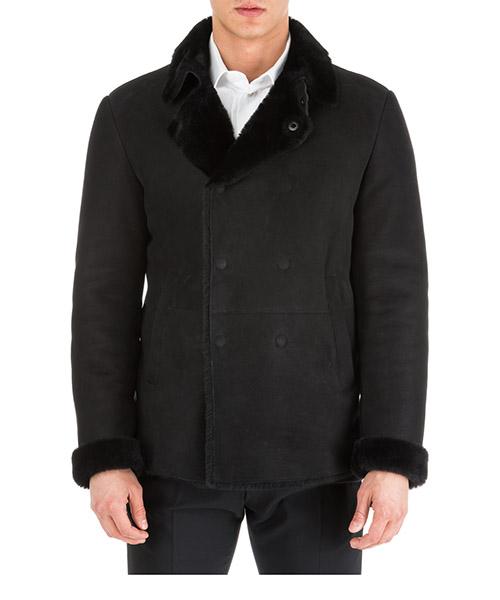 Men's double breasted outerwear jacket blouson