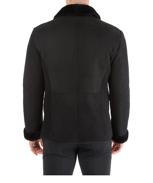 Men's double breasted outerwear jacket blouson secondary image
