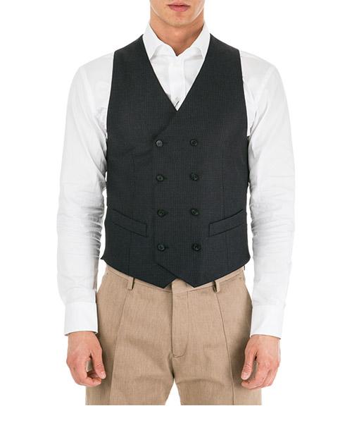 Men's sweater waistcoat vest
