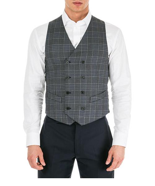 Gilet de costume Emporio Armani 41K11041128631 grigio