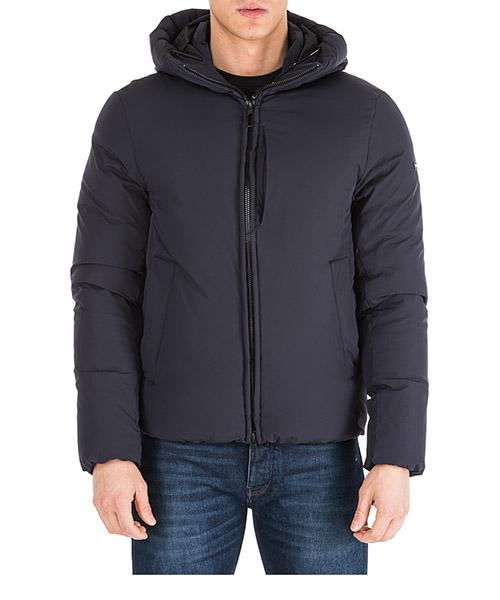 Men's outerwear down jacket blouson hood