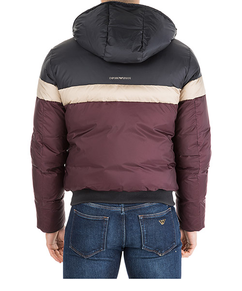 Men's outerwear down jacket blouson hood secondary image