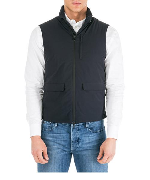 Men's nylon waistcoat body warmer jacket padded