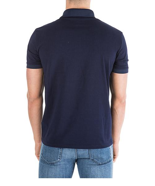 Men's short sleeve t-shirt polo collar regular fit secondary image