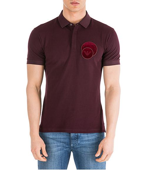 Men's short sleeve t-shirt polo collar slim fit