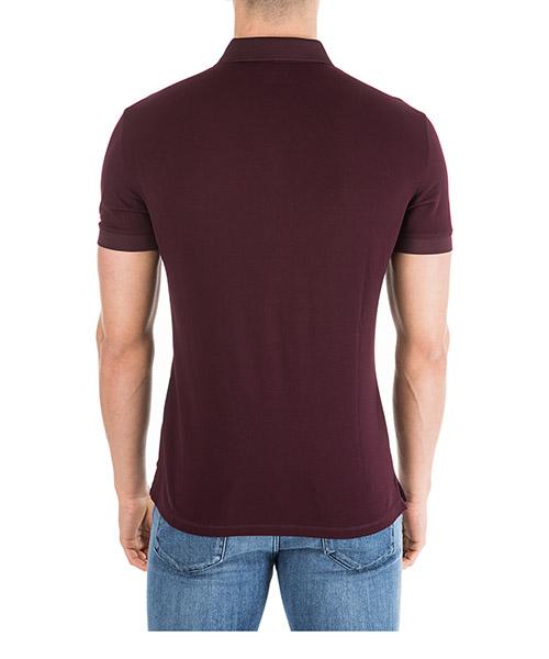 Men's short sleeve t-shirt polo collar slim fit secondary image