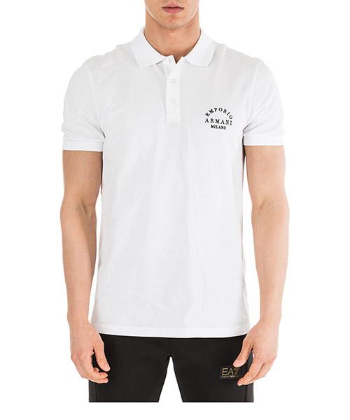 Men's short sleeve t-shirt polo collar