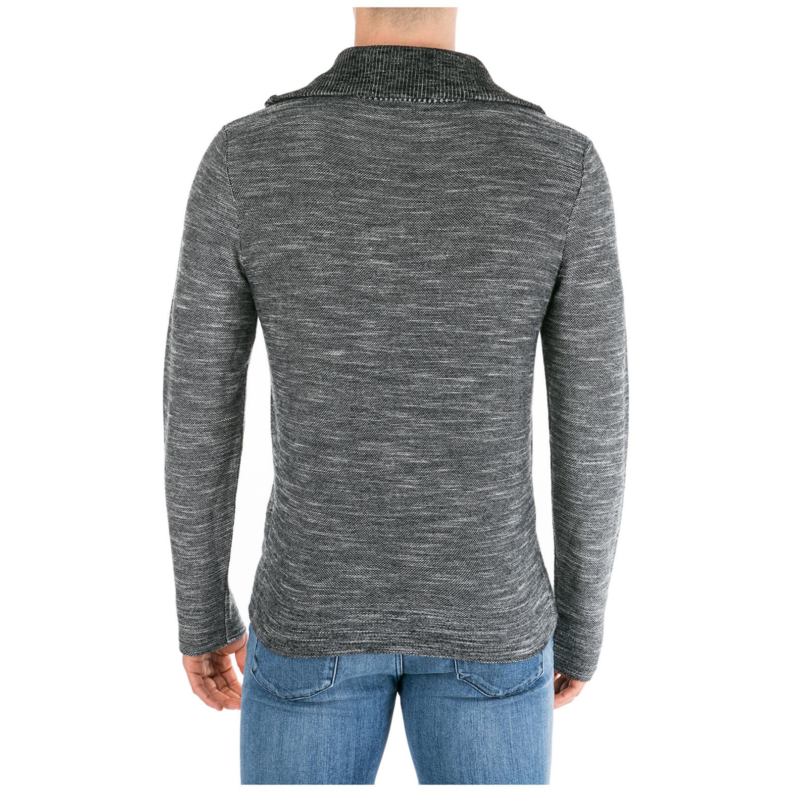 enorme sconto f0922 36c19 Maglione maglia uomo con zip