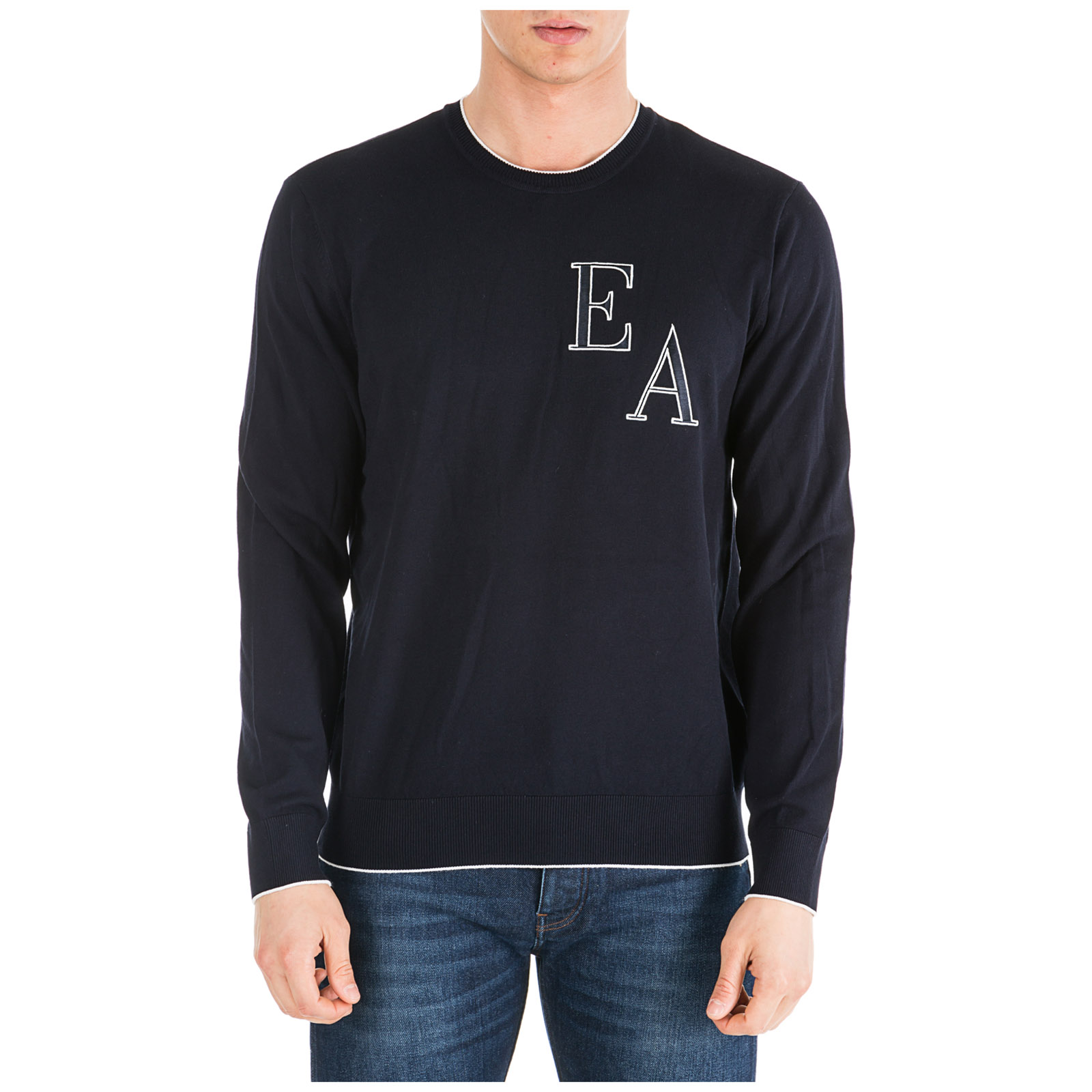 selezione migliore 2f287 947d5 Men's crew neck neckline jumper sweater pullover regular fit