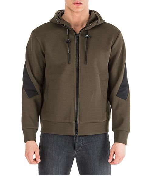 Sweatshirt mit Zip Emporio Armani 6g1mb81jfxz0557 oliva