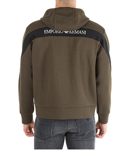 Herren sweatshirt mit zip regular fit secondary image