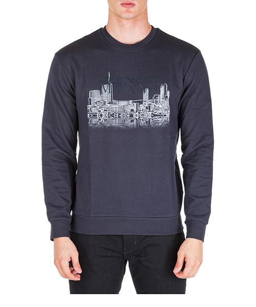Sweatshirt Emporio Armani 6g1mf41j07z0922 blu navy