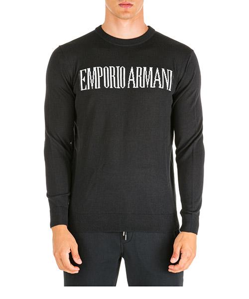 Jumper Emporio Armani 6g1myh1mpxz0999 nero