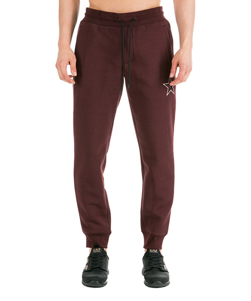 Pantalones deportivos Emporio Armani 6G1P921JQPZ0348 rosso vinaccia