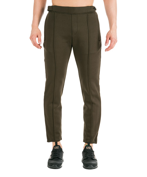 Pantalones deportivos Emporio Armani 6G1PM81JJUZ0557 oliva