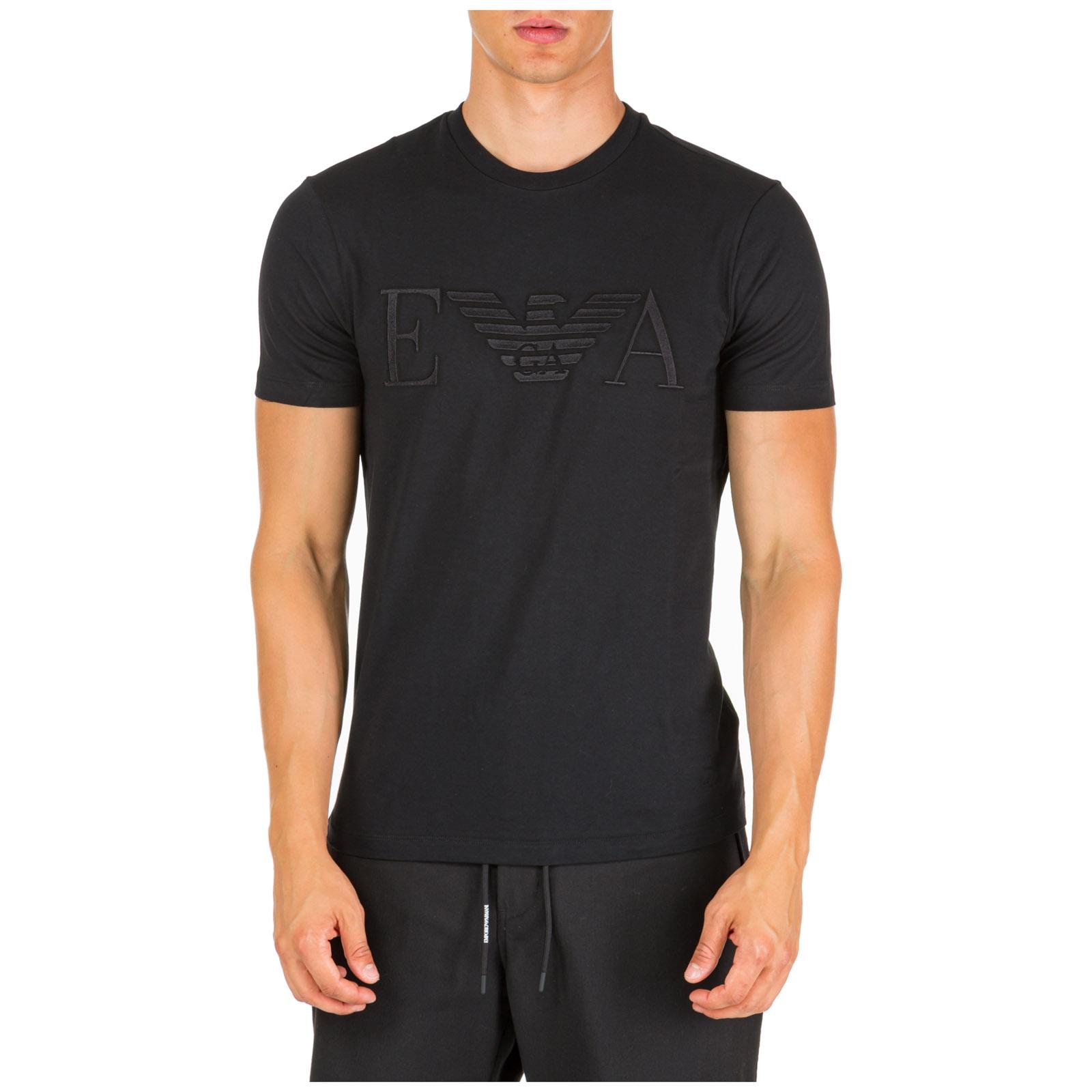 Men's short sleeve t-shirt crew neckline jumper regular fit