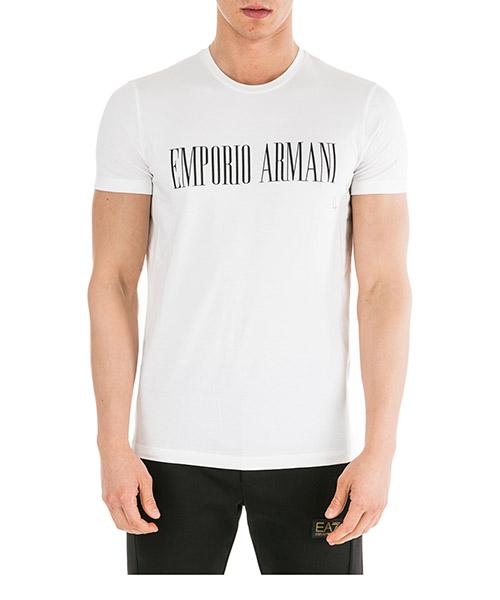 T-shirt Emporio Armani 6G1TD51J0AZ0100 bianco ottico