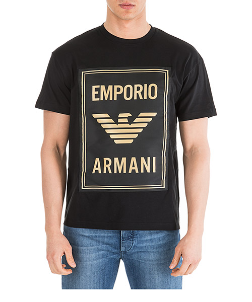 T-shirt Emporio Armani 6G1TE01J00Z0999 nero