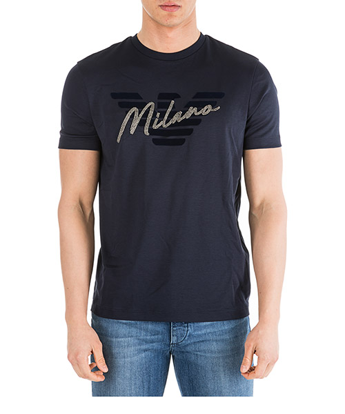 T-shirt Emporio Armani 6G1TF01JPRZ0922 blu