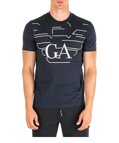 Camiseta Emporio Armani 6G1TP81JTUZF987 blu