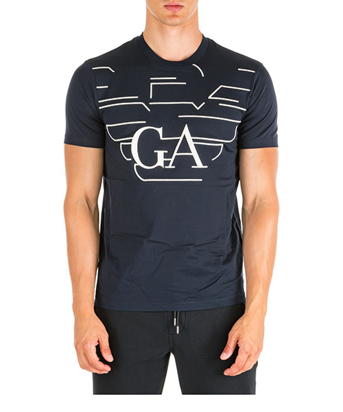 T-shirt Emporio Armani 6G1TP81JTUZF987 blu